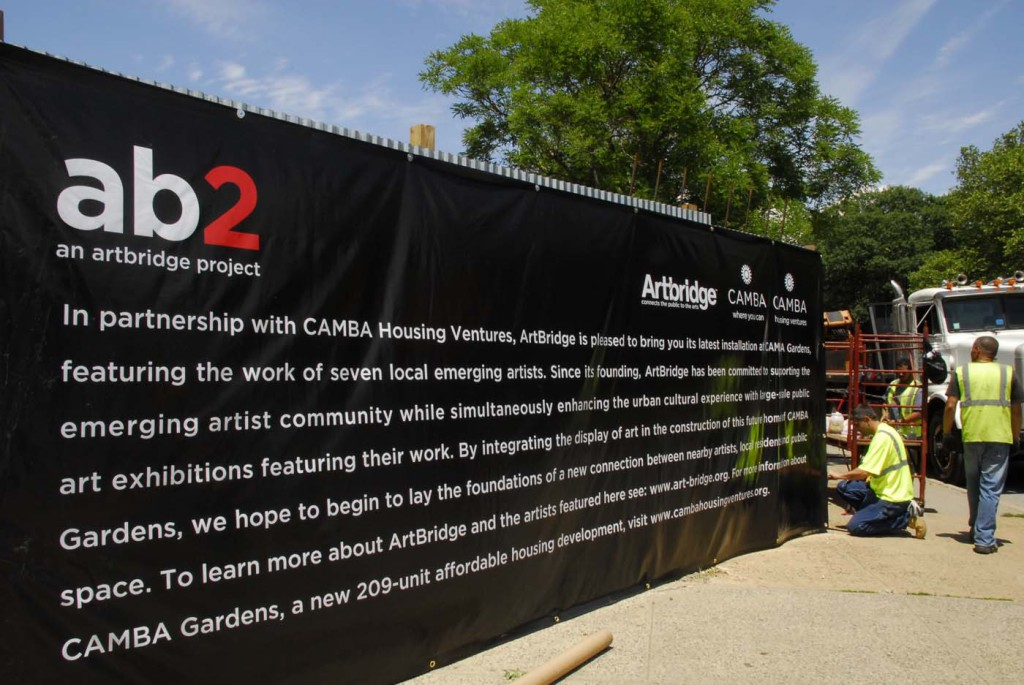 ab2 at CAMBA Gardens, Exhibition by ArtBridge