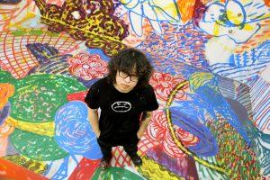 Chen Dongfan, Doyers Street Chinatown Mural -- ArtBridge artist