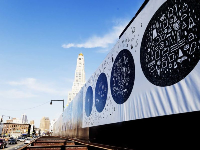 Artbridge Taps 20 Brooklyn Artist For Murals on Atlantic Yards Fencing, Brooklyn Daily Eagle