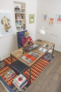 Emiliano Ponzi, ArtBridge for L'Aquilo artist