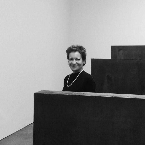 Ida Panicelli, Curator of Arte in Costruzione