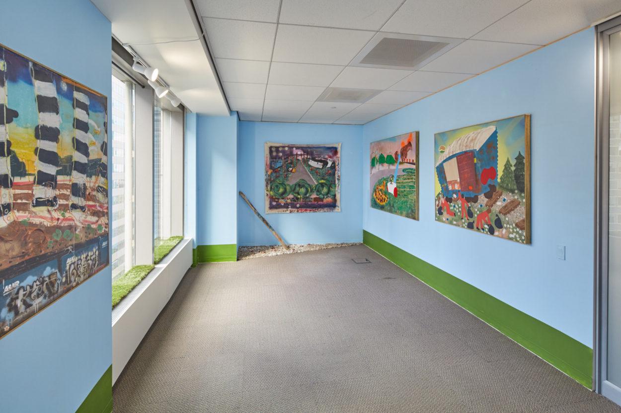 Pat Phillips: Fruitman, exhibition by ArtBridge