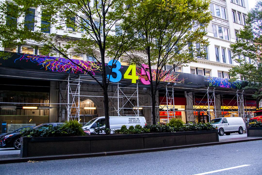 Art on 345 Park Ave South