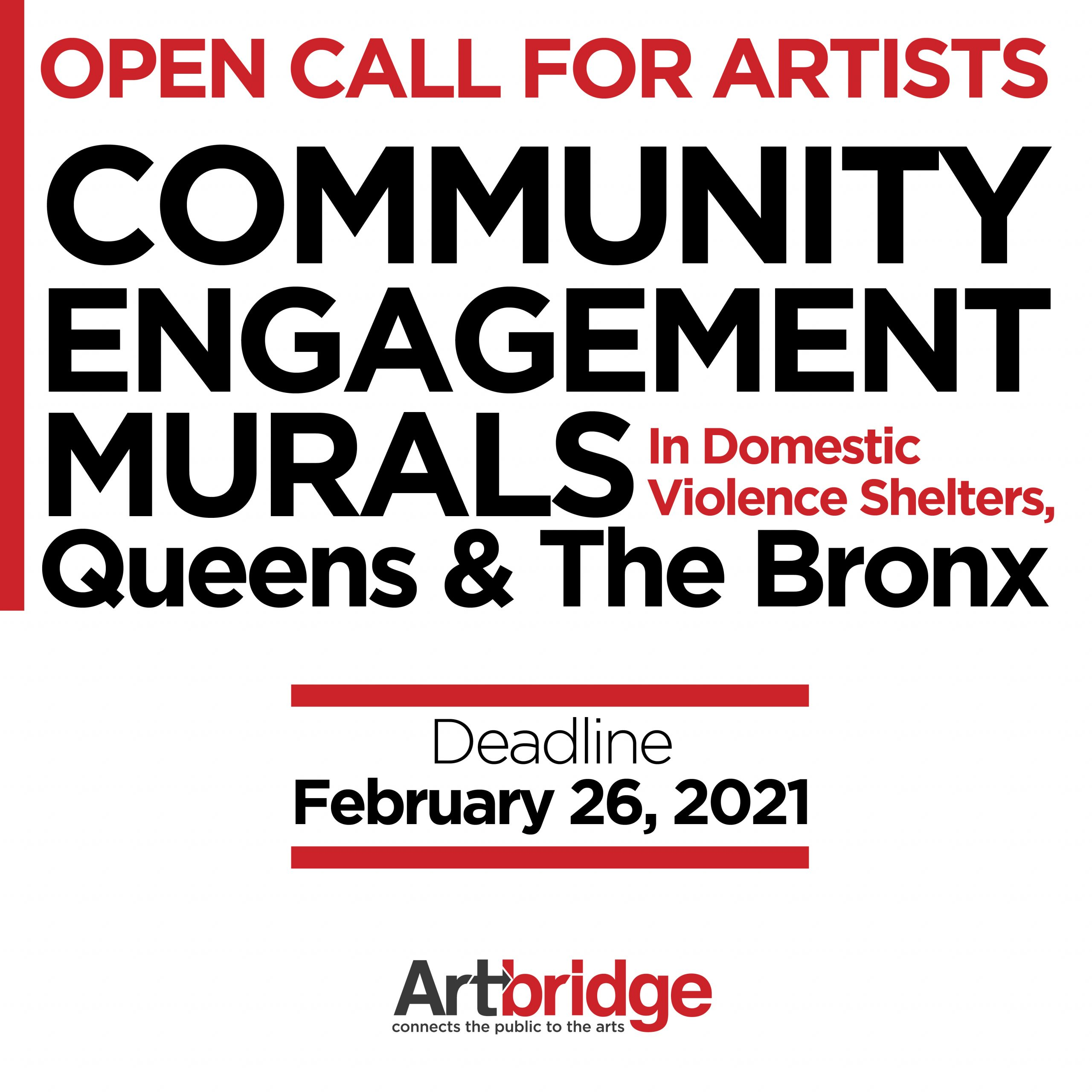 Open call for community murals